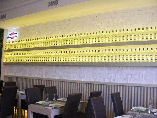 Guadiaro, Spanien: Interior restaurante