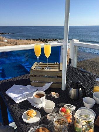 Blue - Inn on the Beach: Sunset, sunrise, breakfast, room view