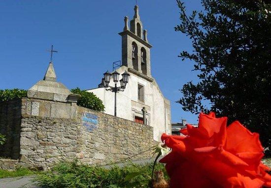Burela, Испания: iglesia