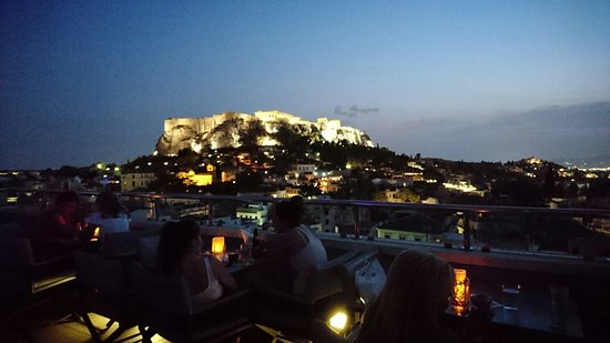 Arguably the best view on the Acropolis!