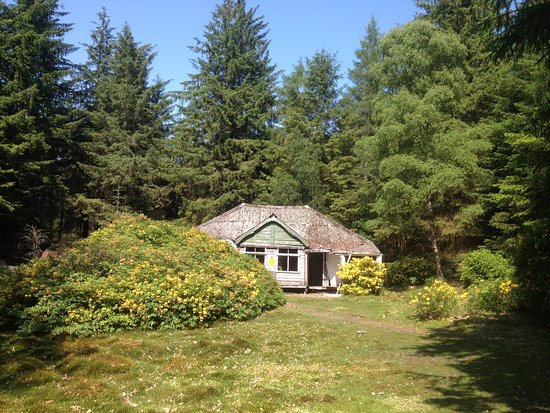 Gartocharn, UK: The old house on Inchconnachan
