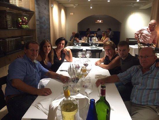 Cintruénigo, España: Eligiendo en menú de nuestra boda.