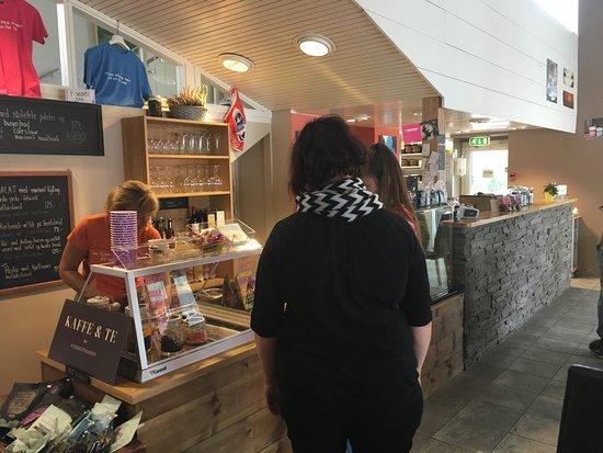 Hemsedal, Noruega: Flott kafe;)