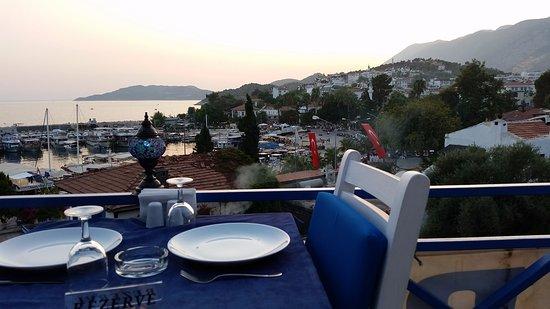Dolphin Restaurant'ta gün batımı