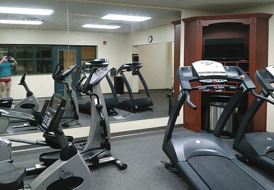 Hagerstown, MD: Nice small workout room.