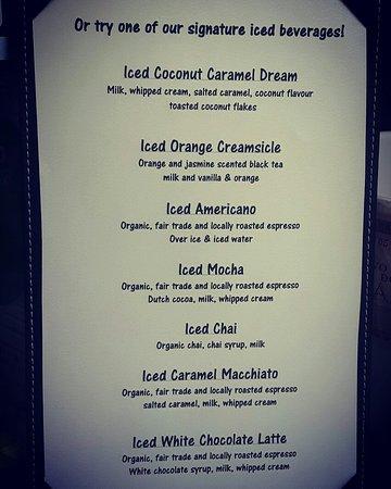Saturna Island, Kanada: We have delicious Iced coffee!