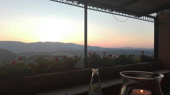 Monteluco, Италия: Tramonto incantato