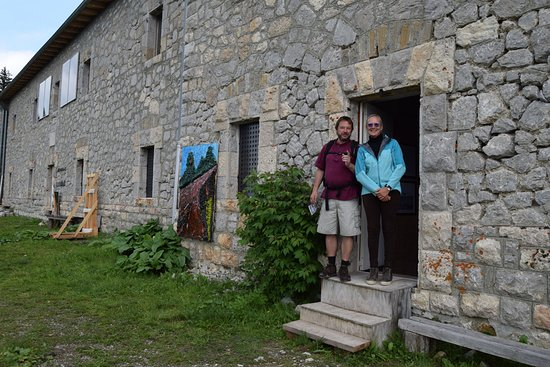 Cibiana di Cadore, Italy: ..;with the enthousiast guide / organiser