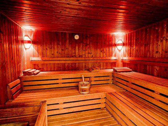 sauna bild von achat plaza frankfurt offenbach. Black Bedroom Furniture Sets. Home Design Ideas
