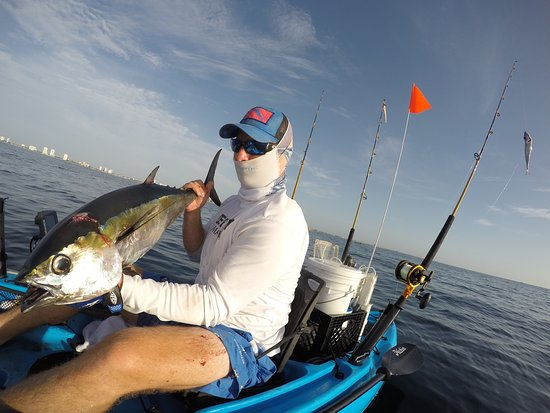 Deep blue kayak fishing charters boynton beach fl omd men for Boynton beach fishing