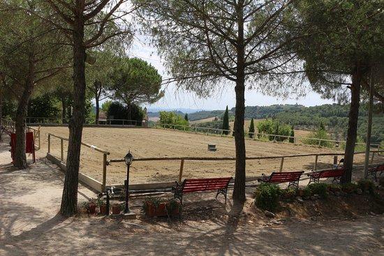 Il Paretaio: Top riding aren