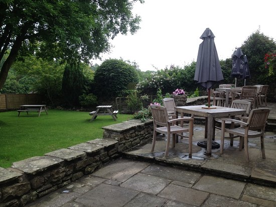 Burton-in-Lonsdale, UK: Beer Garden