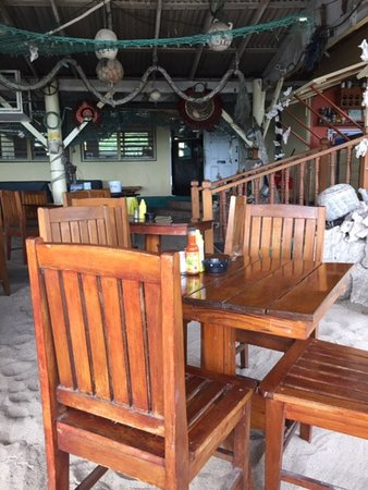Crab Hill, Antigua: OJ's Restaurant.