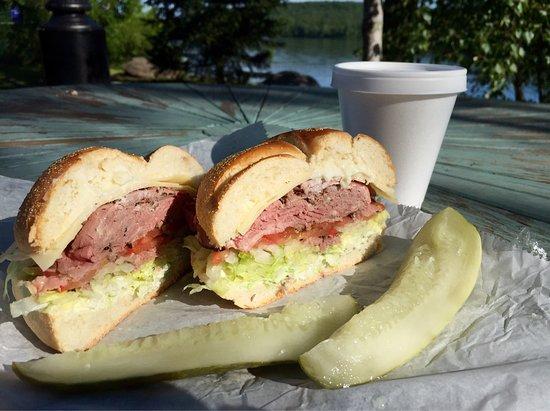 Swan Lake, NY: Roast Beef & Swiss