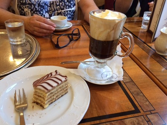Afternoon coffee time! - Picture of Konditorei Zauner, Bad Ischl ... #afternoonCoffee