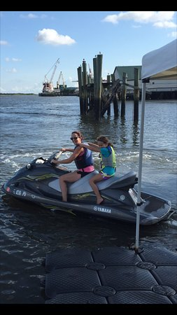 Fernandina Beach, FL: mother daughter day out adventure with flying fish