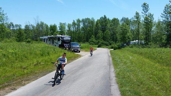 Belgium, Ουισκόνσιν: camp site