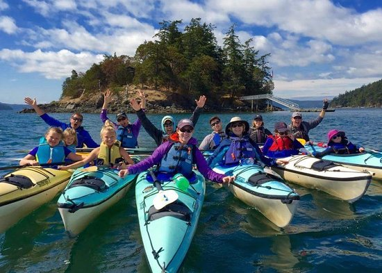 Eastsound, WA: kayaking with Shearwater on Orcas Island