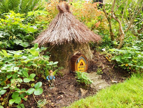One of the many fairy houses - Picture of Terra Nova Fairy