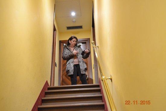 Hotel Contilia: Acesso ao quarto