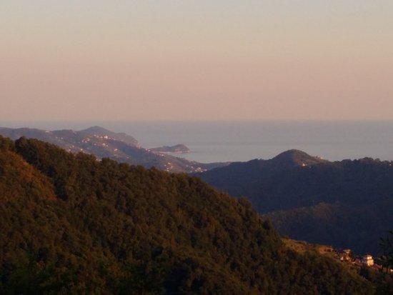 San Colombano Certenoli, Italie : Che vista!