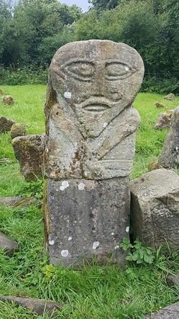 Boa Island, UK: Caldragh cemetery