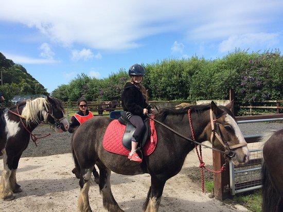 Pony Trekking at Bwlchgwyn Farm