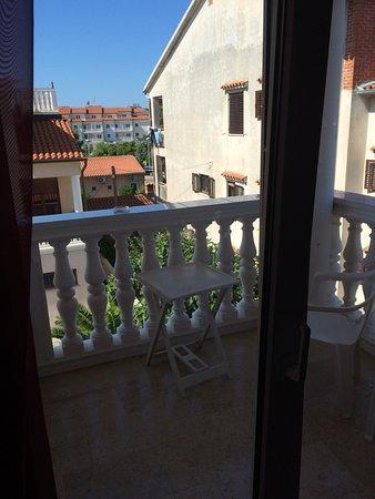 Villa Zibi -  bed & breakfast: Balkon