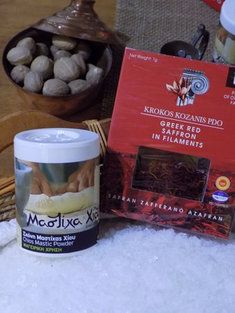 Greek Spices - Picture of Faskomilo, Heraklion - TripAdvisor