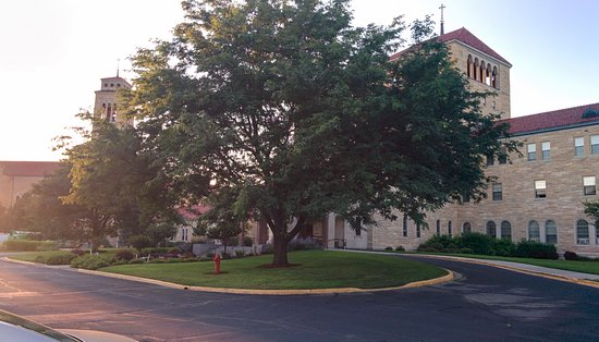 Assisi Heights: The main building