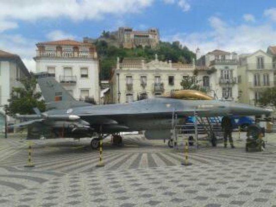 Leiria, Portugal: vista para o castelo