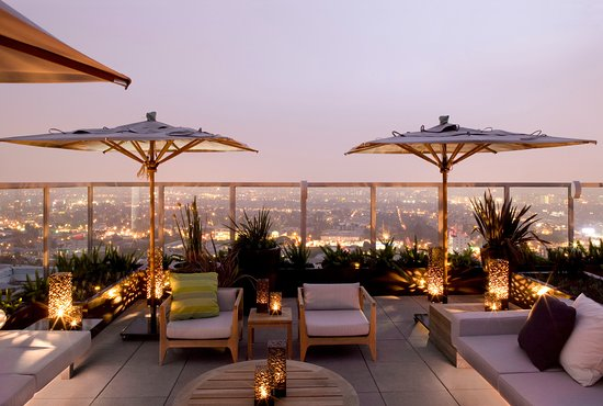Stunning views from the Andaz West Hollywood