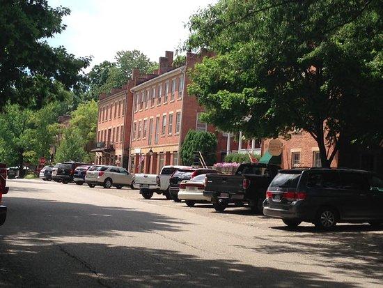 Coshocton, OH: Street Scene Roscoe Village