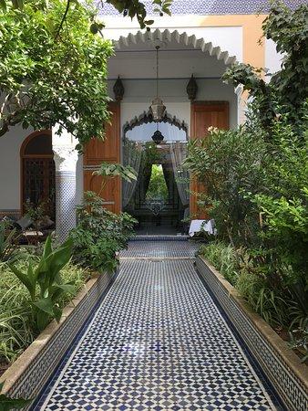 Palais Amani: Beautiful Courtyard