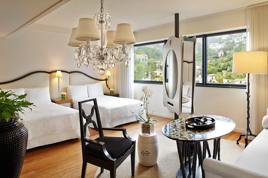 West Hollywood, CA: Mondrian offers modern luxury with wonderland charm