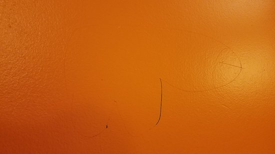 Plymouth, MN: someone had scratched a penis on the elevator door..how classy