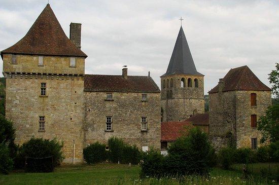 Saint-Pompont, Frankrike: Le château