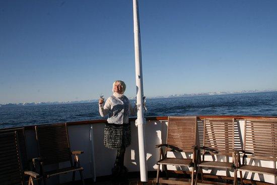 Magdalena Bay : бухта Магдаленфьорд.