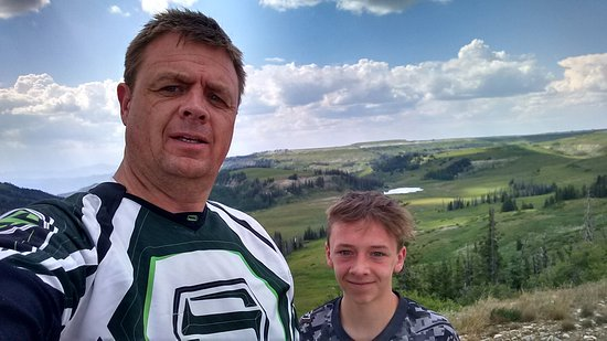 Ephraim, UT: Skyline drive on the dirtbikes. Awesome views!