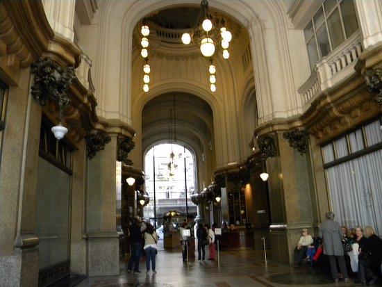 Hall de acceso Palacio Barolo