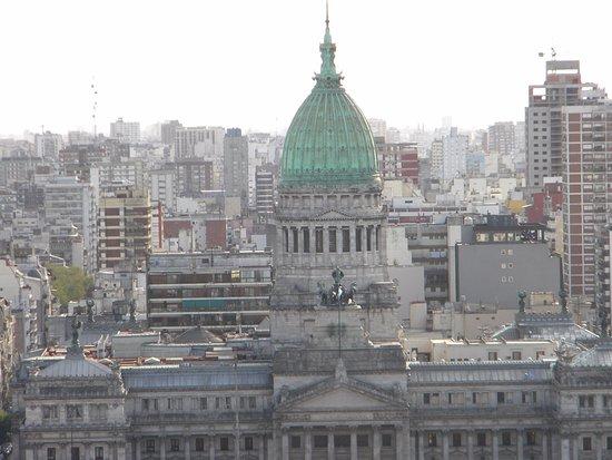 Palacio Barolo: Vistas desde la terraza del Palacio Batolo
