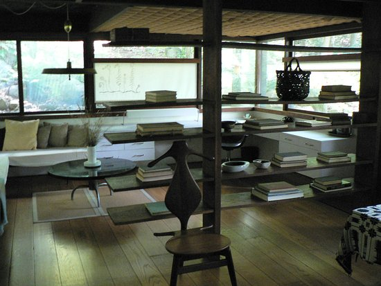 Manitoga / The Russel Wright Design Center: Russel Wright's studio and bedroom