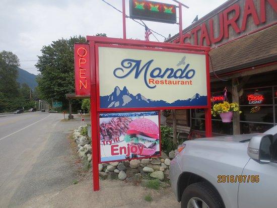 Marblemount, WA: sign