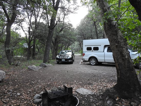 Cave Creek Canyon: Campsite