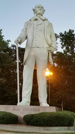 Sam Houston Statue: 20160802_201839_large.jpg
