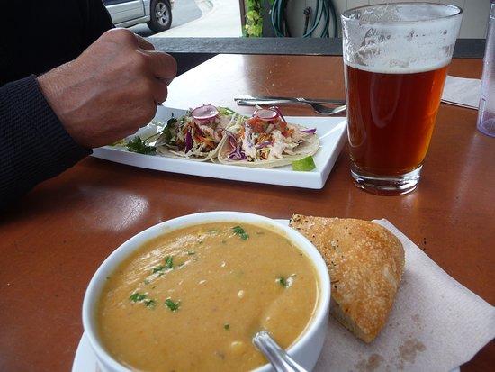 Cumberland, Canadá: good lunch!