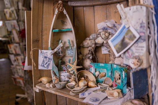 Scrap decoratie in strand sfeer foto van bij ellen egmond