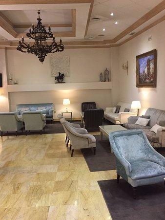 Hotel Maestranza: lobiden bir görüntü