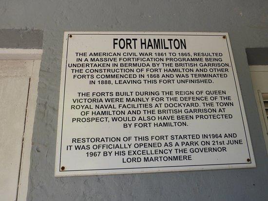 Fort Hamilton: History