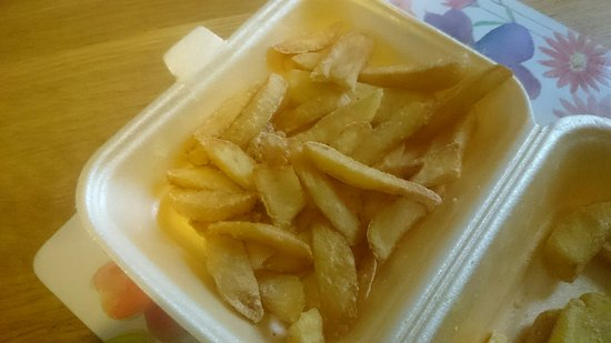 Midwest: Don't go midweek or when the managers aren't on because the chips are often served like this. Dr